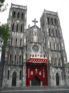 Saint Joseph's Cathedral, Hanoi's oldest church built in the late 1880s