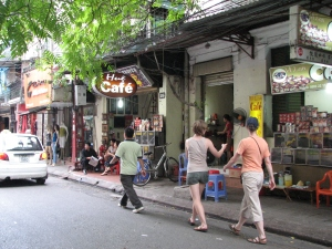 Spotting civet coffee in the Old Quarter