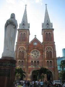 Notre Dame basilica in Saigon